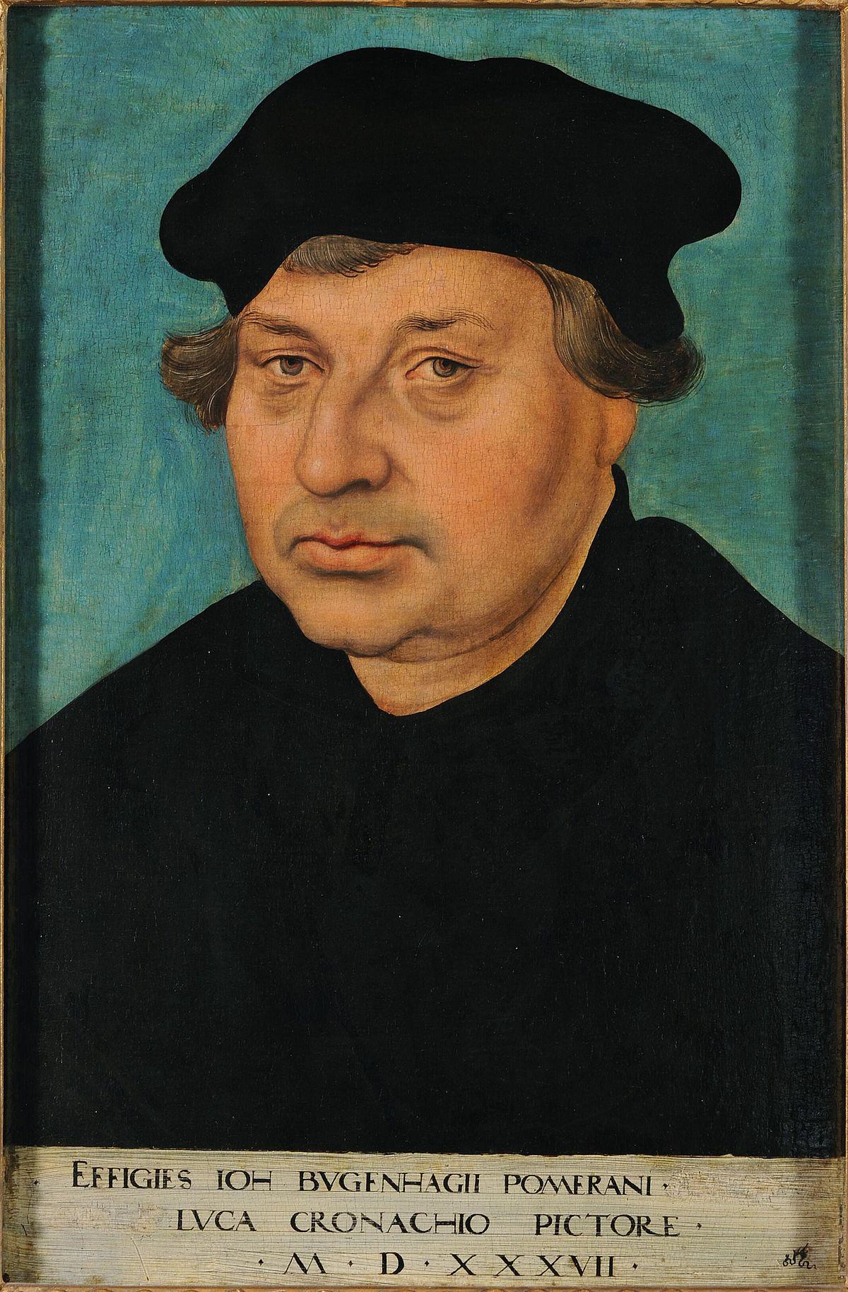 Johannes Bugenhagen Lucas Cranach